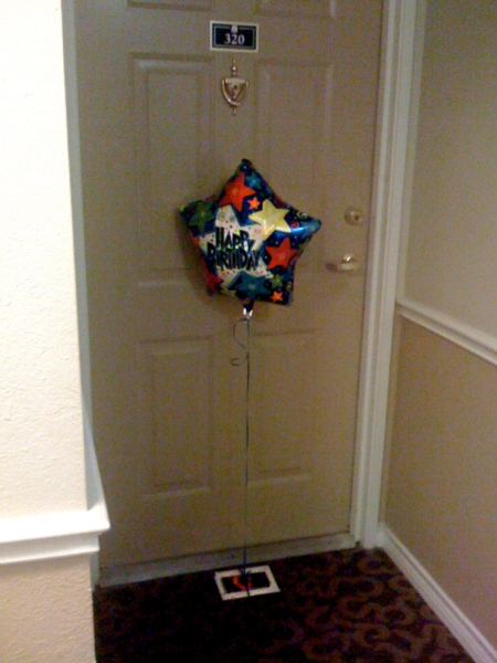 A present at my front door!