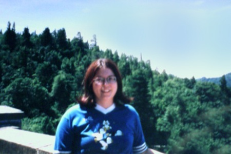 <i> Me in my favorite shirt, circa 1998, in Portland, Oregon. I have no clue what happend to the shirt and now I'm suddenly sad. </i>