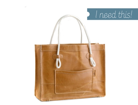 I need this! My Heart Behaves, LL Bean, leather tote, Mariner Leather Tote