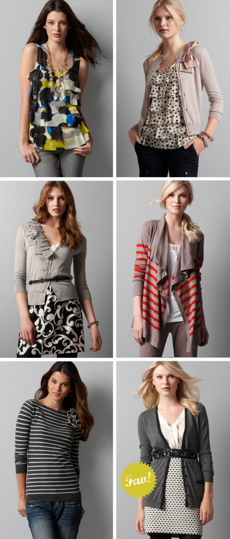 My Heart Behaves, LOFT fall collection