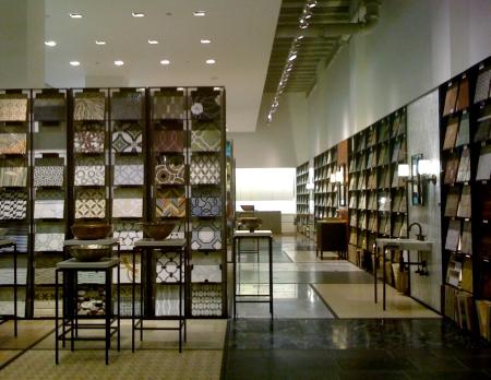 Ann Sacks, Merchandise Mart, Chicago, Ann Sacks showroom