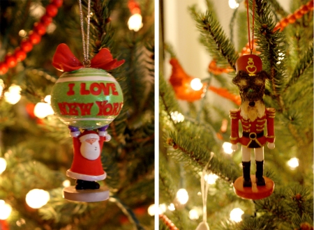 mini schnauzer nut cracker christmas ornament, NYU Christmasornament