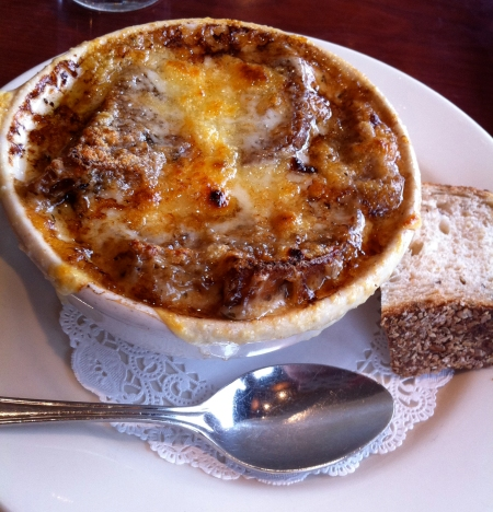 Winberie's, French Onion Soup, Oak Park